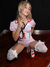 Teen Kasia Stripping Nurse