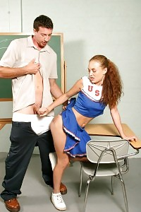 Cheerleader Gets Punished For Her Failing Marks And Has Bare Booty Ass Spanking